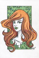 Poison Ivy Headshot5 by RichBernatovech