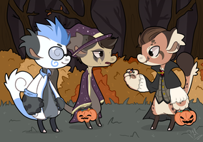 HollowBean Event Entry - Trick or Treat with Bert by Pikachumaster