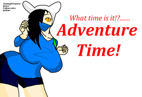 Question 15~Dare~Fionna Cosplay!! by Nileen-Spaniel