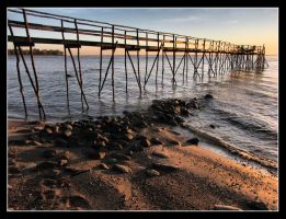 IMG 3678 Long Pier Early Morning by CitizenOlek