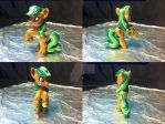 MLP FiM Blind Bag Repaint #5: Earth Pony by inuyasha1086