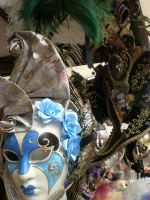 Venetian Masks 1 by Equus-2008