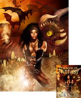 Epic Dragon Premade Book Cover by Viergacht