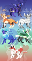Nume Adoptables #2 (CLOSED) by Tikrekins