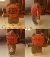 Wicket the Ewok by CreationsbyJolie
