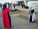 Otakon 2009 - Toshiro Vs. Vincent by Cosplay-Pics-Account