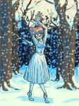 Dance of Snowflakes by InuLeeli