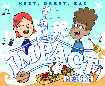 IMPACT PERTH logo by munchai