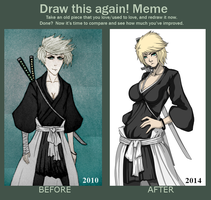 draw this again meme by THE-DARK-MIA