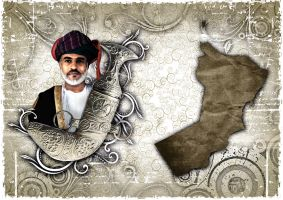 Oman Qaboos by Amjad-Design