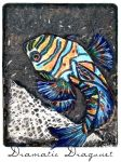 Dramatic Dragonet Print by che4u