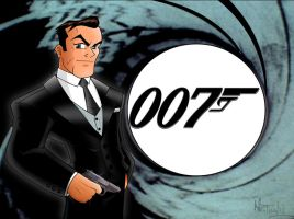 James Bond 007 by TonyForever