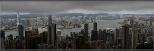 View from the Peak - HKG by LuckyLisp