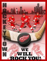 Detroit Red Wings Poster by lagoulue21