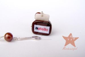 Nutella Earrings by missbeautifool