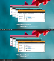 Letein Theme Windows 8.1 by cu88