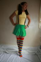 Rainbow Doll 10 by 212Stock