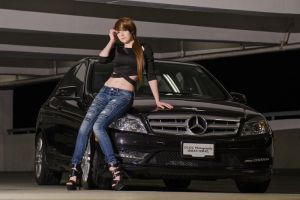 Hana and the Merc - A by DISC-Photography