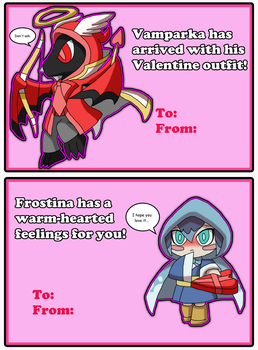 Yokai Watch: Valentine Cards by DarkTidalWave
