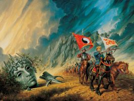 'The Path of Daggers' cover by Darrell K. Sweet by ArcangHell