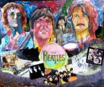 John, Paul, George, and Ringo by smjblessing