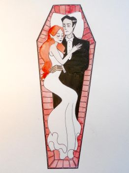Mr and Mrs Dracula by Flatterzunge