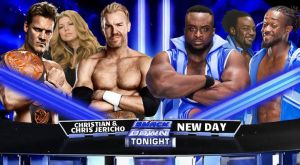 Chris y Christian Vs New Day by LauJericho