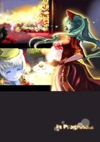 LOL_Xmas_comic_Preview by ElementB13