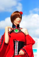 Meiko cosplay Conchita version by Sandman-AC