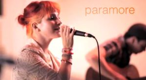 paramore live at AP sessions by thePenHolder