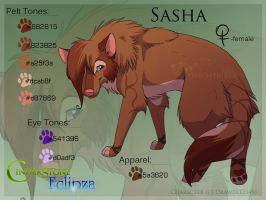 Sasha Ref by Nightrizer