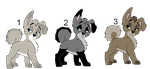 Adoptables - (Closed) by ArticWolf14