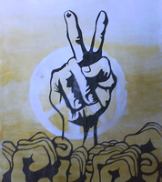 peace, man by hydestein