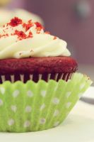Red Velvet Cupcake by LittleApple00