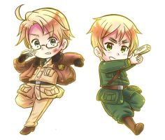 Hetalia: US and UK in action, the whole image! by NessieMcCormick