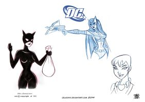character design DC comics Antheroes by celaoxxx