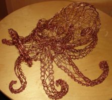 wire octopus by Jaxnxay