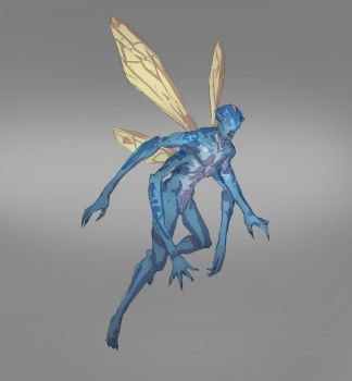 Fairy Redesign by jordyskateboardy
