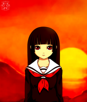 Hell Girl (+speedpaint) by Twime777