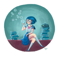 Sailor Mercury by LillianLai