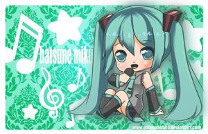Hatsune Miku mini print by AsianPanties