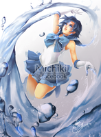 Sailor Mercury by michikixthien