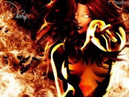 Xmen: Phoenix Background by rolobio