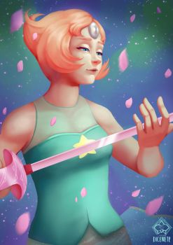 I'll do it for her - Pearl Fanart by Dicenete