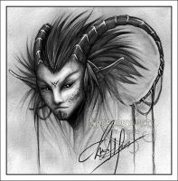 .: Feral Horn :. by Chernobylpets