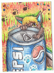 Munk - ACEO TRADES OPEN by ConkerTSquirrel