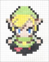 Huge Pixels - Link by pizza-eater