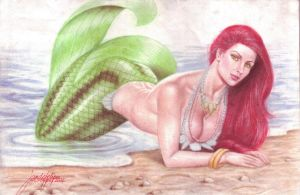 Sexy Ariel (The Little Mermaid) (#1) by JD Felipe by VMIFerrari