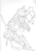 CONQUEST ISSUE 1 COVER Pencils by artoftheimmortal