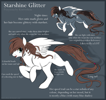 Starshine Glitter Reference by Konveekou